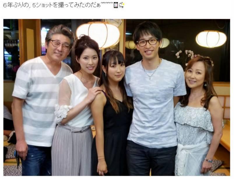 布川敏和さんとつちやかおりと家族