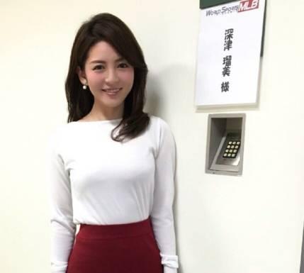 深津瑠美のワールドスポーツMLB画像