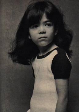 キャロライン洋子の子役時代